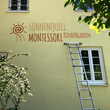 Montessori Kindergarten Maler München Fassade