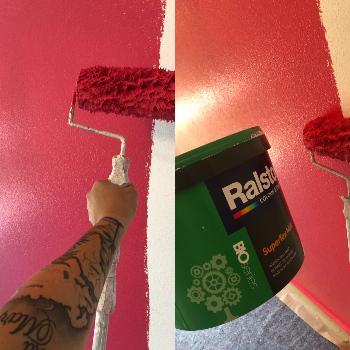 Maler Innen Pink